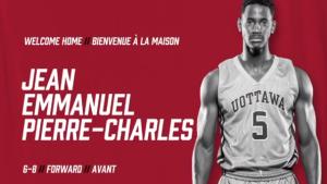 The Ottawa BlackJacks have announced Ottawa native Jean Emmanuel Pierre-Charles as their first player. (Ottawa BlackJacks / Instagram)