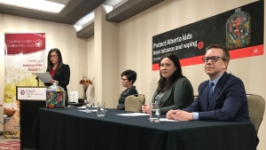 The Campaign for a Smoke-Free Alberta is asking people to tell their MLAs that they've had enough of the loose regulations and to demand more action to address the rise of youth vaping.