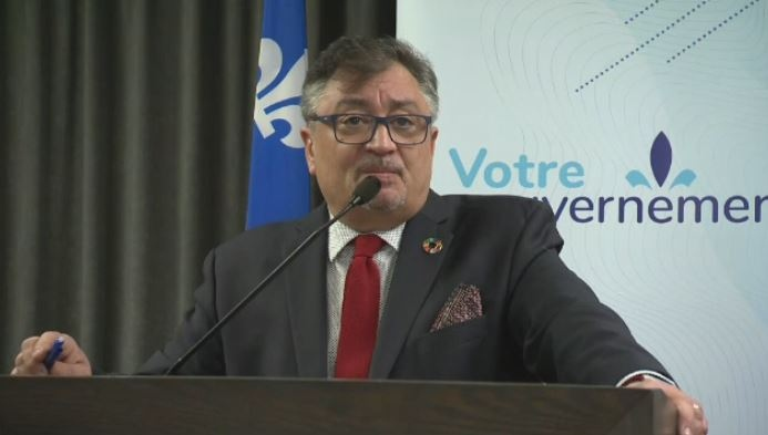 Quebec's public health director Dr. Horatio Arruda