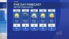 Forecast: Brief break from the rain