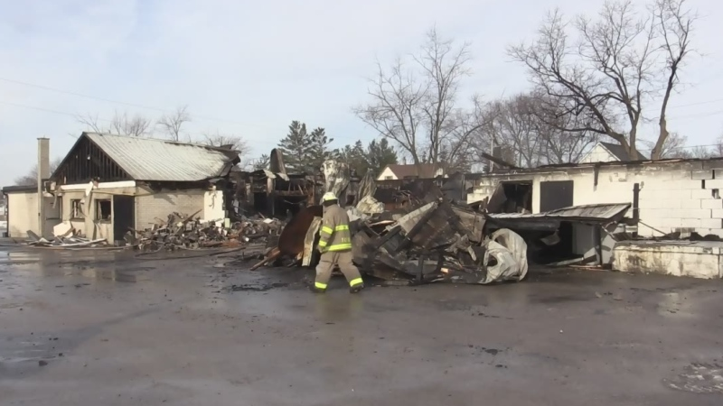 Thorndale reeling after community centre destroyed