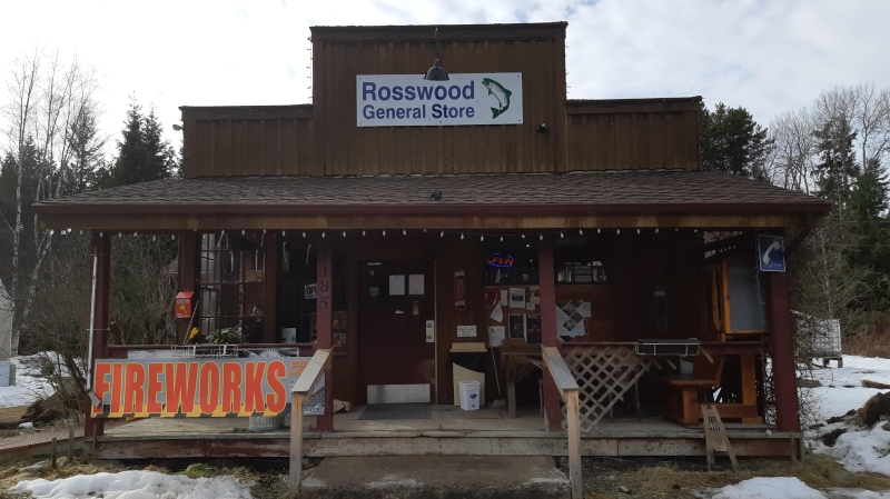 The payphone at the Rosswood General Store hasn't worked for over six months. (Submitted)
