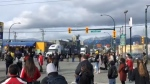 Protesters have blocked access to the Port of Vancouver in solidarity with the Wet'suwet'en hereditary chiefs who oppose the Coastal GasLink pipeline project.