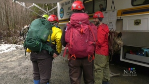 Scout leaders, children found safe near Sooke