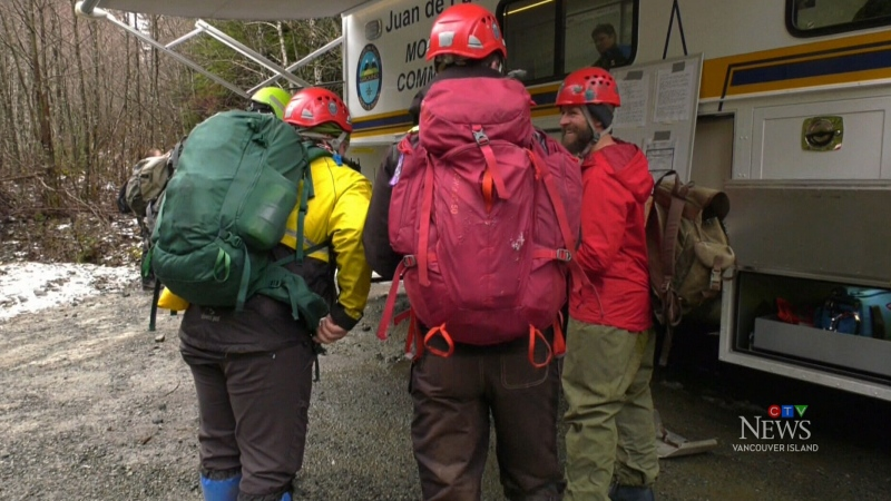 Scout leaders, children found safe near Sooke