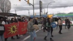 Protest shuts down West Coast Express
