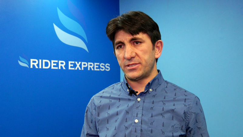 Firat Uray is the owner of Rider Express, which has launched a new route between Regina and Calgary