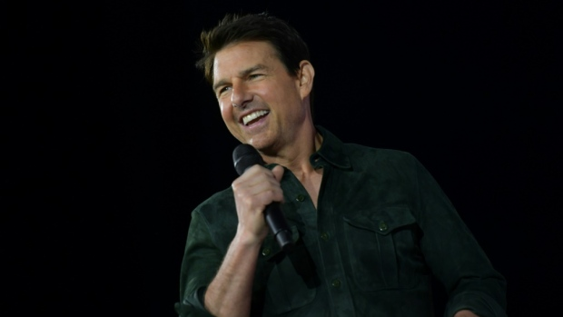 Tom Cruise was scheduled to shoot in Venice for the seventh 'Mission: Impossible' film but production was halted over the coronavirus outbreak. (AFP)