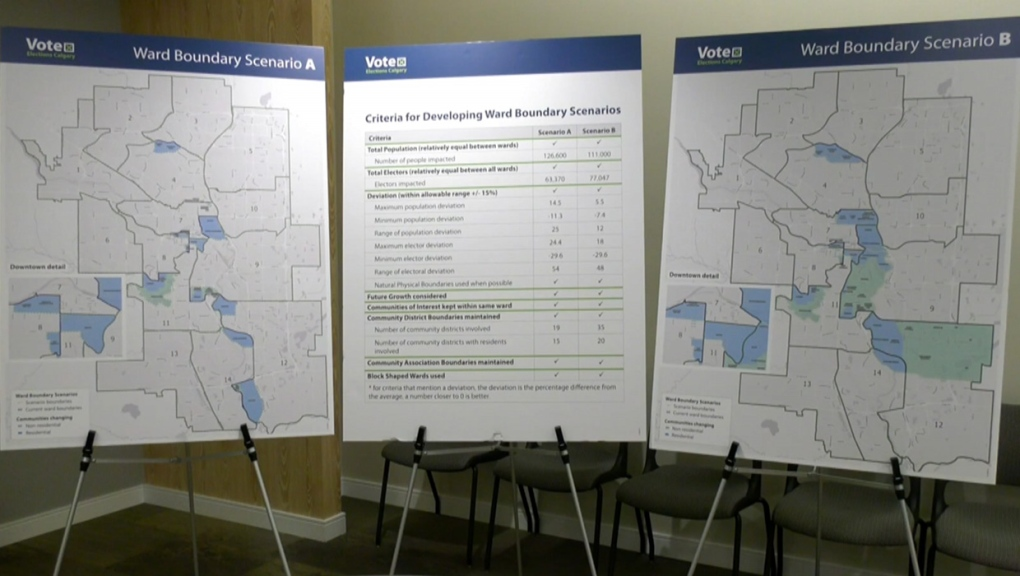 Calgary, ward boundary, changes, proposed