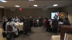 Rotary Club of Sudbury Feb. 25/20 (Lyndsay Aelick/CTV Northern Ontario)
