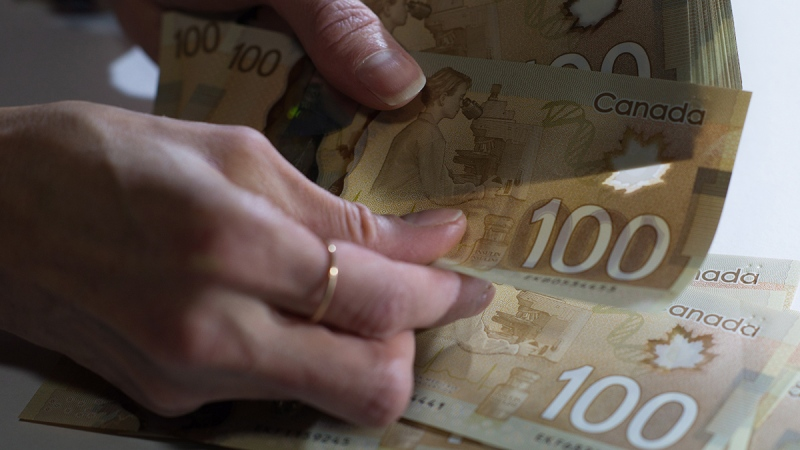money, Canadian currency, finances