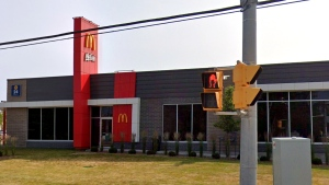 A McDonald's restaurant on Yonge Street, near Elm Grove Avenue, in Richmond Hill is seen. (Google Maps)