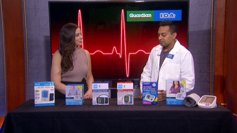 We're talking about hypertension and blood pressure management with Pharmacist Rahim Rajan from Capsule I.D.A.