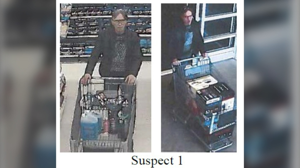 RCMP is asking for help to identify two theft suspects. (RCMP handout)