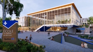 A rendering of the new Quebec schools by the provincial government.