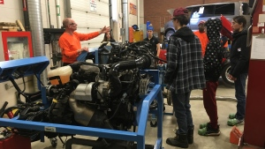 Skills Ontario hosts skilled trades event for Indigenous youth on skilled trades and technologies. Feb. 25/20 (Lyndsay Aelick/CTV Northern Ontario)