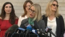 Accusers speak on verdict
