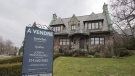 File photo of a house for sale in Westmount. (THE CANADIAN PRESS/Ryan Remiorz)