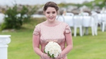 """Chantelle Lindsay takes part in her friend Kayla McNutt's wedding in this handout photo. Lindsay died after being denied access to a """"life-saving"""" therapy for cystic fibrosis. (THE CANADIAN PRESS/HO, Trevor Allen Photography)"""