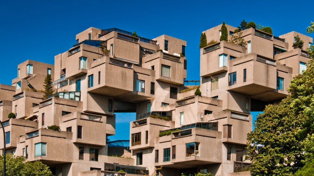 Take a tour: Apartment inside Habitat '67 for sale for $1 ...