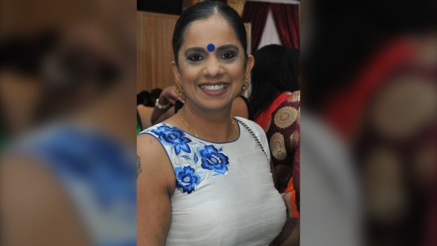New Westminster police are searching for 44-year-old Nirla Sharma who was last seen at her home on Lawrence Street on Feb. 23, 2020. (New Westminster police handout)
