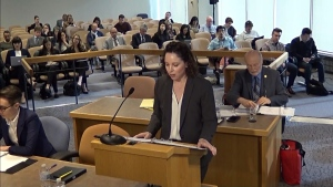 Public inquiry into money laundering in B.C. continues for a second day on Feb. 25, 2020.