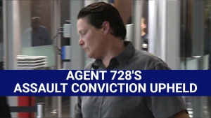 'Agent 728' loses appeal in assault conviction