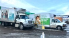 The Edmonton Food Bank says three catalytic converters have been stolen at its warehouse located at 115 Avenue and 120 Street.