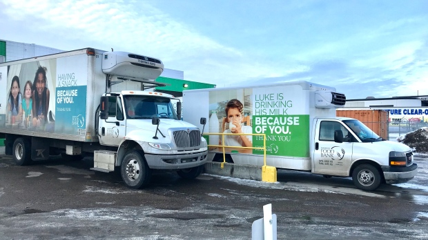 'Stop stealing from us': Food Bank frustrated after third catalytic converter theft in six months