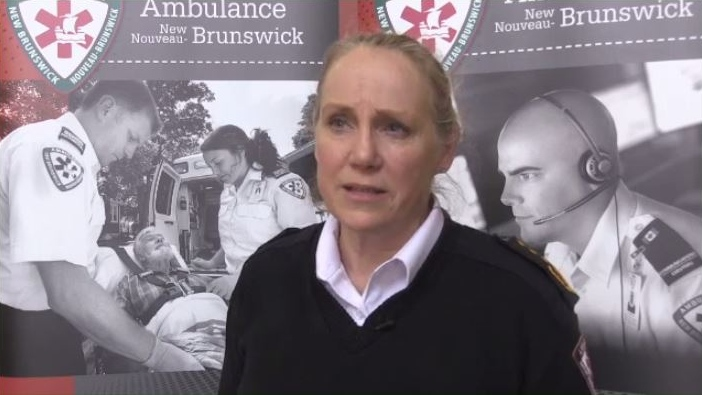 """Our emergency departments are extremely busy,"" said Susan Dugas of Ambulance New Brunswick. ""We have ambulances on off-load delay, so they're backed up. We don't want our palliative patients waiting for a bed in an emergency department if they can be cared for at home."""