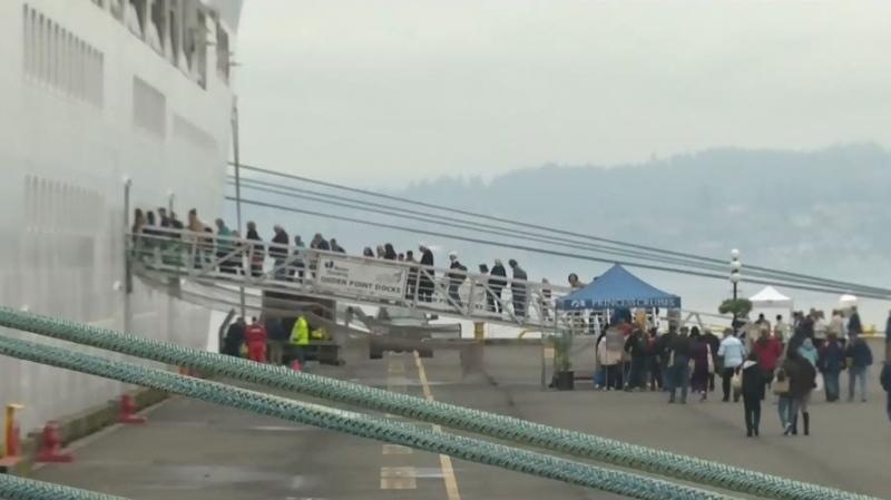 Cruises redirect to Victoria following coronavirus