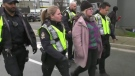 Pipeline protesters defiant as police move in