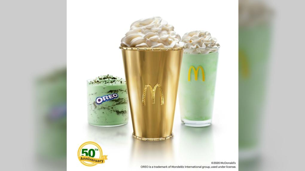 McDonald's shake cup