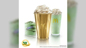 The cup is valued at US$90,000. (McDonald's/ebay)