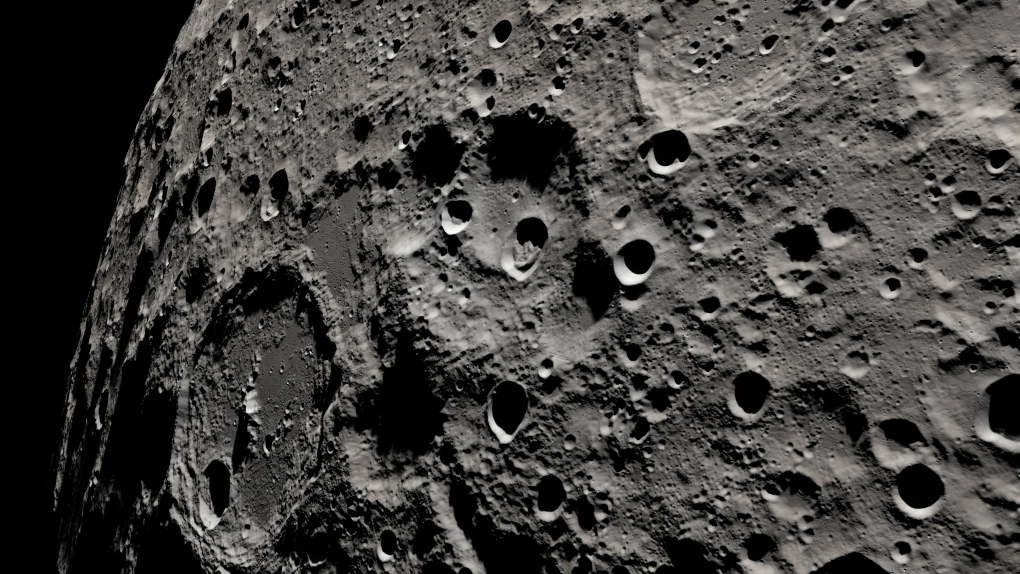 nasa moon video