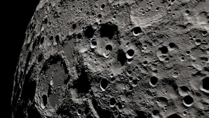 New video from NASA gives viewers a look at what Apollo 13 astronauts saw. (Goddard Space Flight Center/NASA)