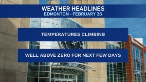 Weather headlines, Feb. 26