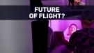 Airline unveils economy-class sleeping pods