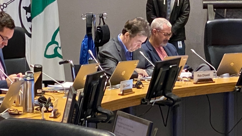 RIck Chiarelli appears at Ottawa City Council on Feb. 26, 2020. (Tyler Fleming/CTV News Ottawa)
