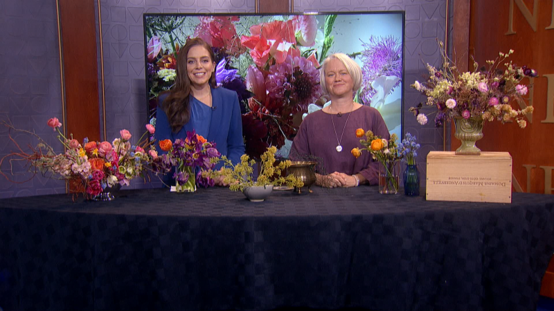 Sustainable is more than a buzzword right now. We'll show you some environmentally friendly options with flowers with Becky Feasby with Prairie Girl Flowers