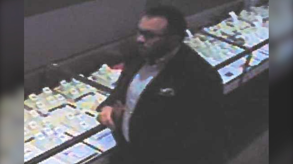 CrossIron Mills, suspect, police impersonation