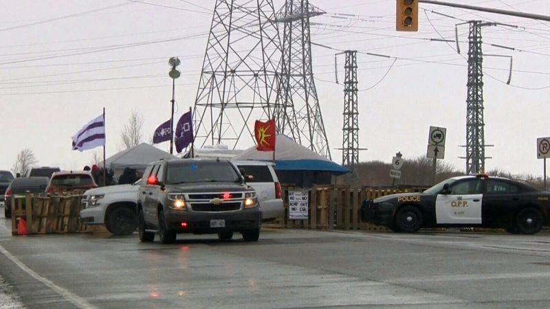 No end in sight for Hwy. 6 blockade near Caledonia