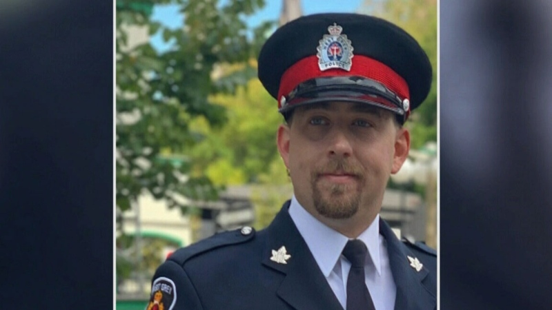 Celebration of life for Const. Cory Trainor