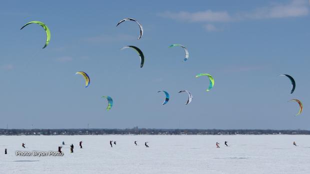 Britannia kite board race on the weekend. (Bryan Piotto/CTV Viewer)