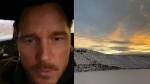Hollywood superstar Chris Pratt is the latest celebrity to be wooed by B.C.'s beautiful scenery. (Instagram/prattprattpratt)