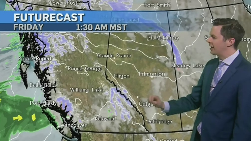 Warming trend continues in Calgary