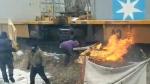 Tyendinaga fires on tracks