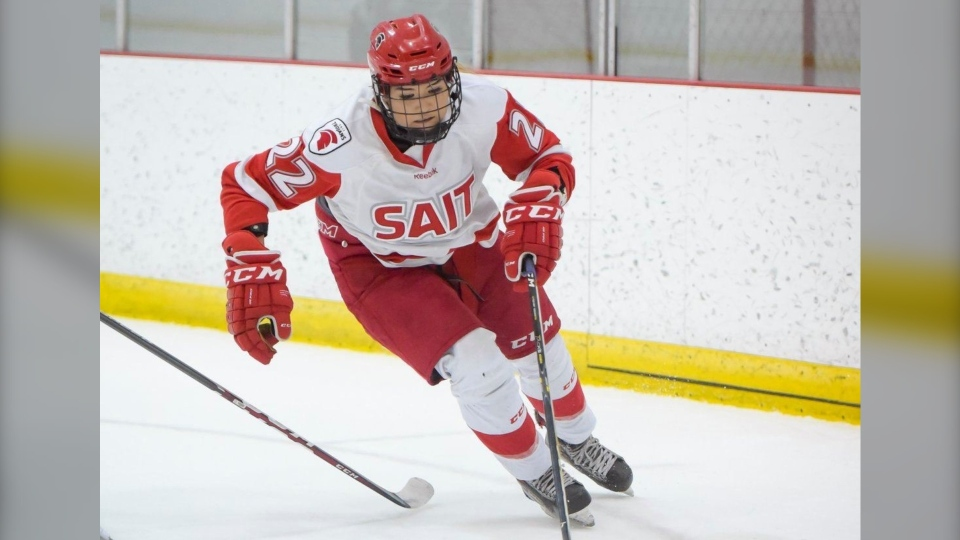 Davina McLeod, SAIT, slur, hockey