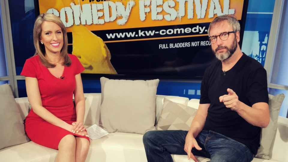 Rosie Del Campo and Tom Green