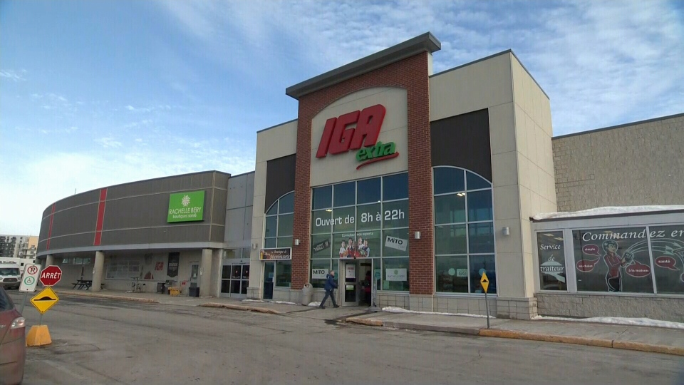 A 22-year-old worker at this IGA grocery store in Levis, Quebec has won the $70-million jackpot